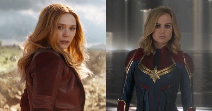 Elizabeth Olsen Brie Larson Marvel