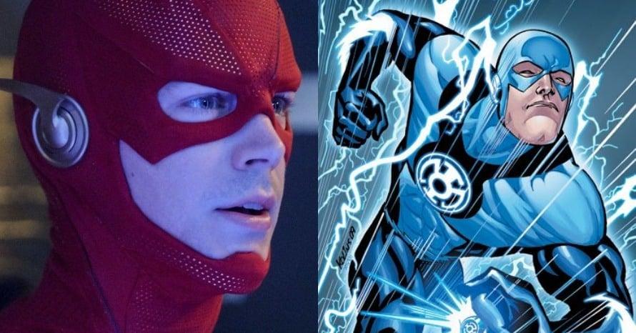 Grant Gustin Blue Lantern The Flash