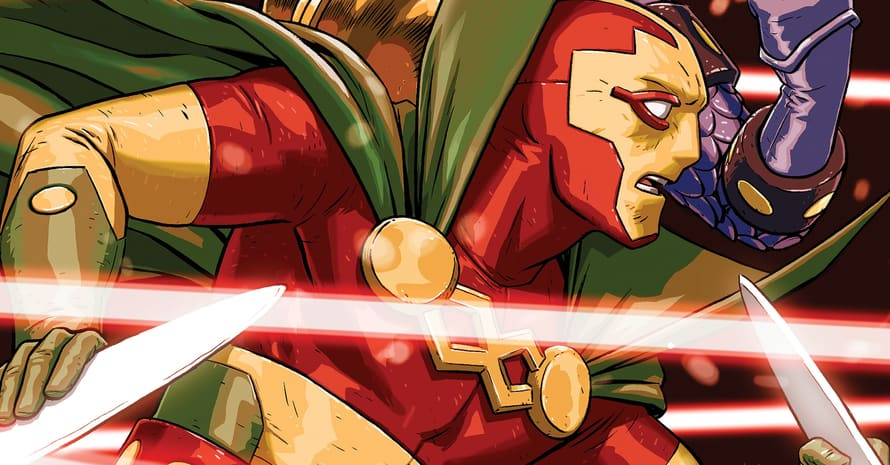 Grant Gustin The Flash Mister Miracle