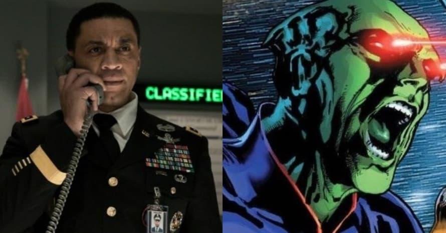 Harry Lennix General Swanwick Martian Manhunter Zack Snyder Justice League Batman v Superman