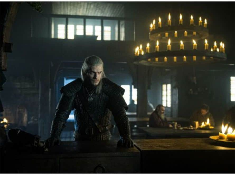 Henry Cavill The Witcher Bar