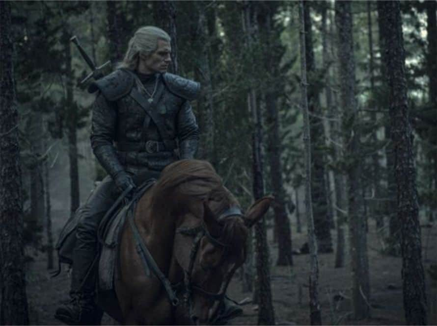 Henry Cavill The Witcher Roach