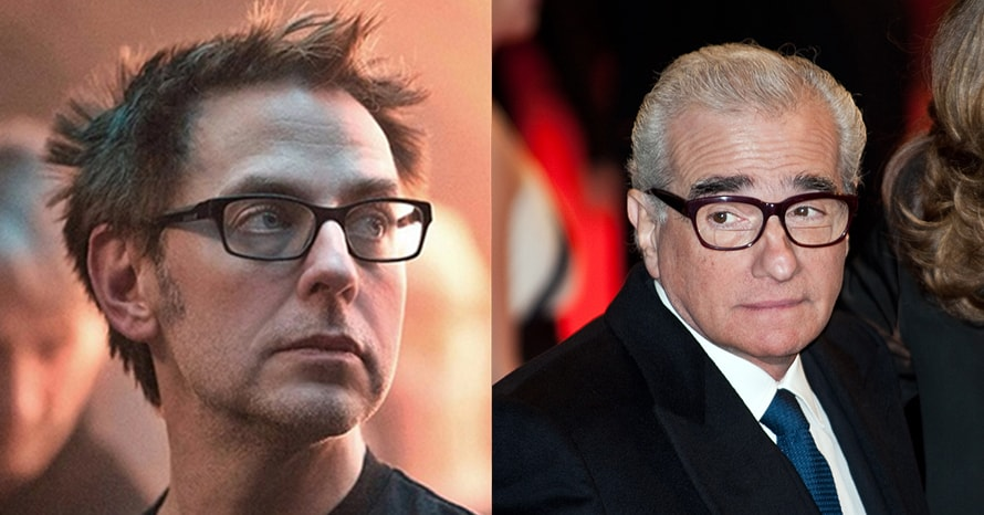 James Gunn Martin Scorsese Marvel Suicide Squad Guardians Of The Galaxy