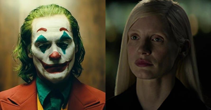 Jessica Chastain Joaquin Phoenix Joker X-Men