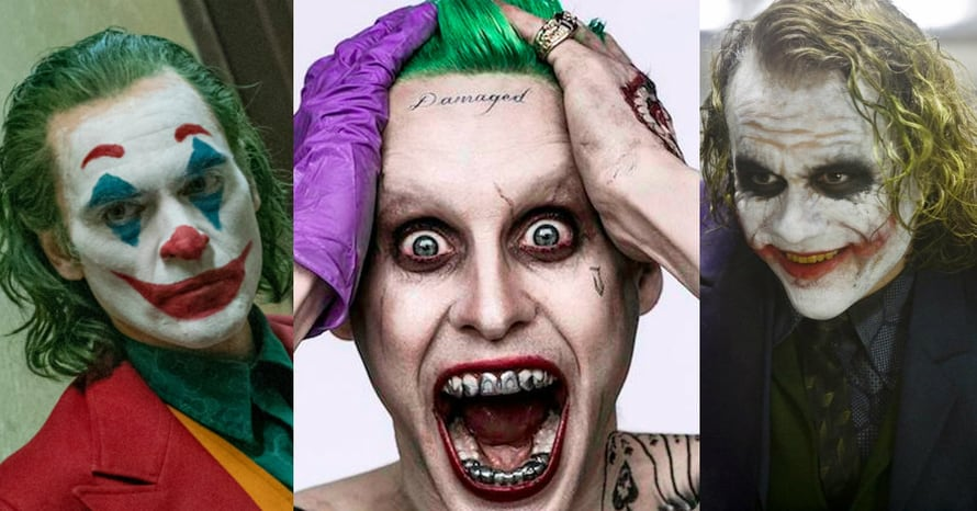 Heath Ledger Vs Joaquin Phoenix Poll: Fan Morphs Joaquin Phoenix, Jared Leto & Heath Ledger's
