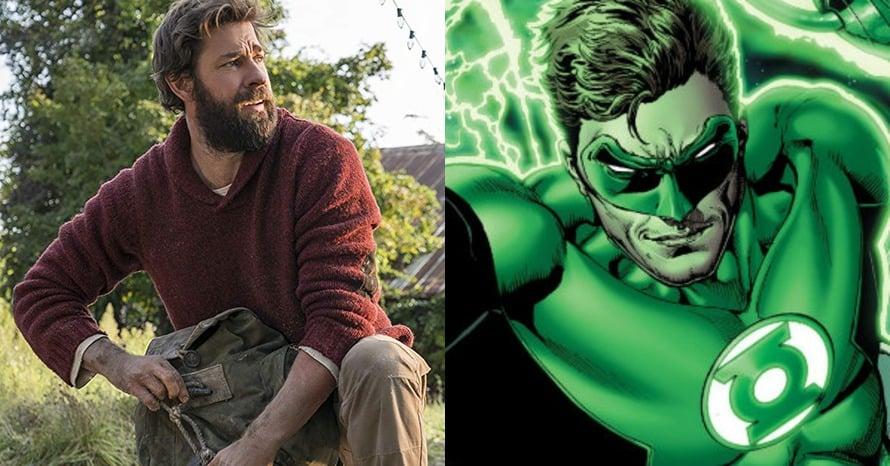 John Krasinski Hal Jordan Green Lantern Corps