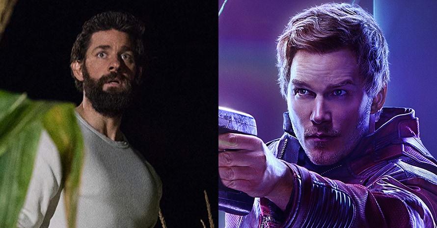 John Krasinski Avengers Chris Pratt A Quiet Place
