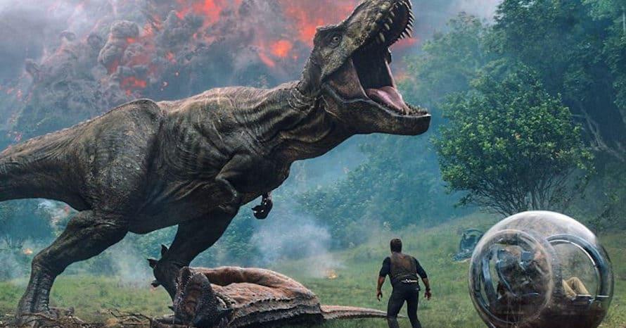 Jurassic World: Dominion 3 Colin Trevorrow Justice Smith Daniella Pineda Omar Sy Jake Johnson Universal Studios Coronavirus