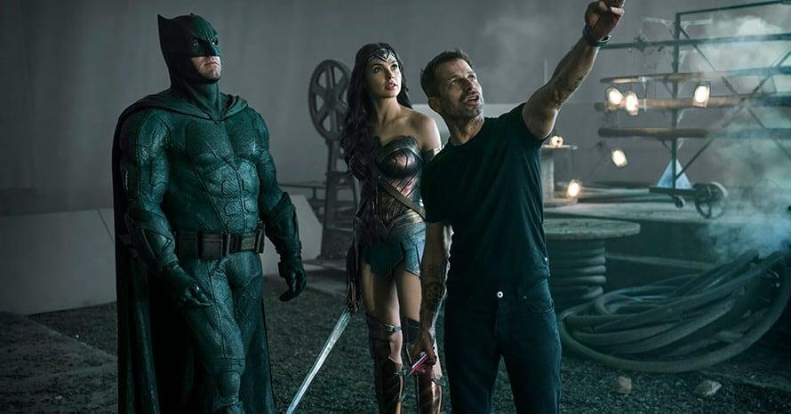 Justice League Zack Snyder Snyder Cut HBO Max Warner Bros Batman v Superman Justice Con DC FanDome Junkie XL Stephen Colbert The Late Show