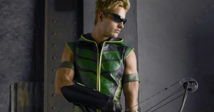Justin Hartley Green Arrow Crisis On Infinite Earths Arrowverse Smallville