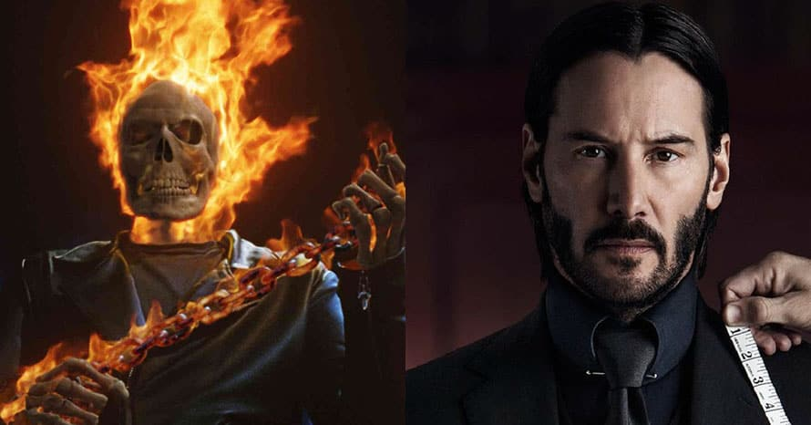 John Wick Keanu Reeves Ghost Rider MCU