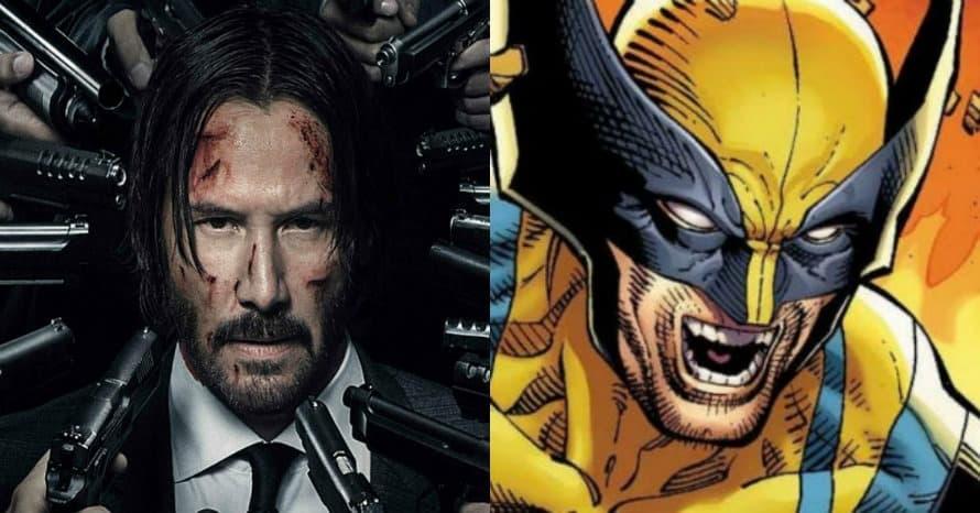 Keanu Reeves Wolverine John Wick Hugh Jackman
