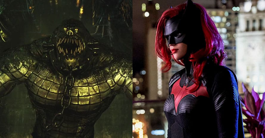 Killer Croc Ruby Rose Batwoman