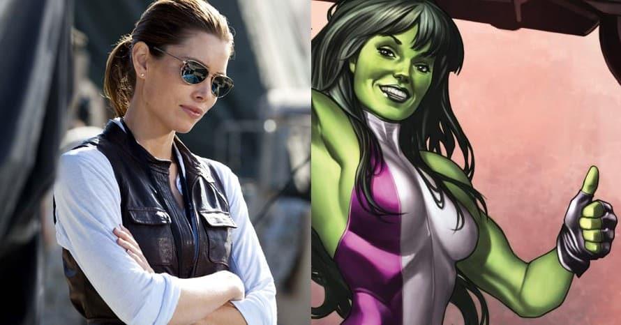 Marvel Studios Jessica Biel She-Hulk