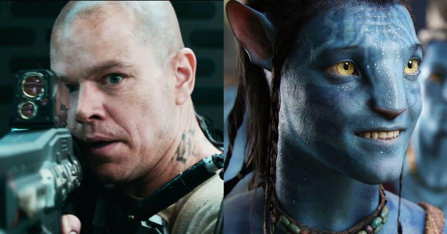Matt Damon Sam Worthington Avatar