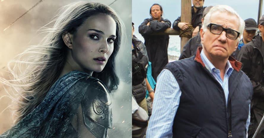 Natalie Portman Marvel Studios Martin Scorsese
