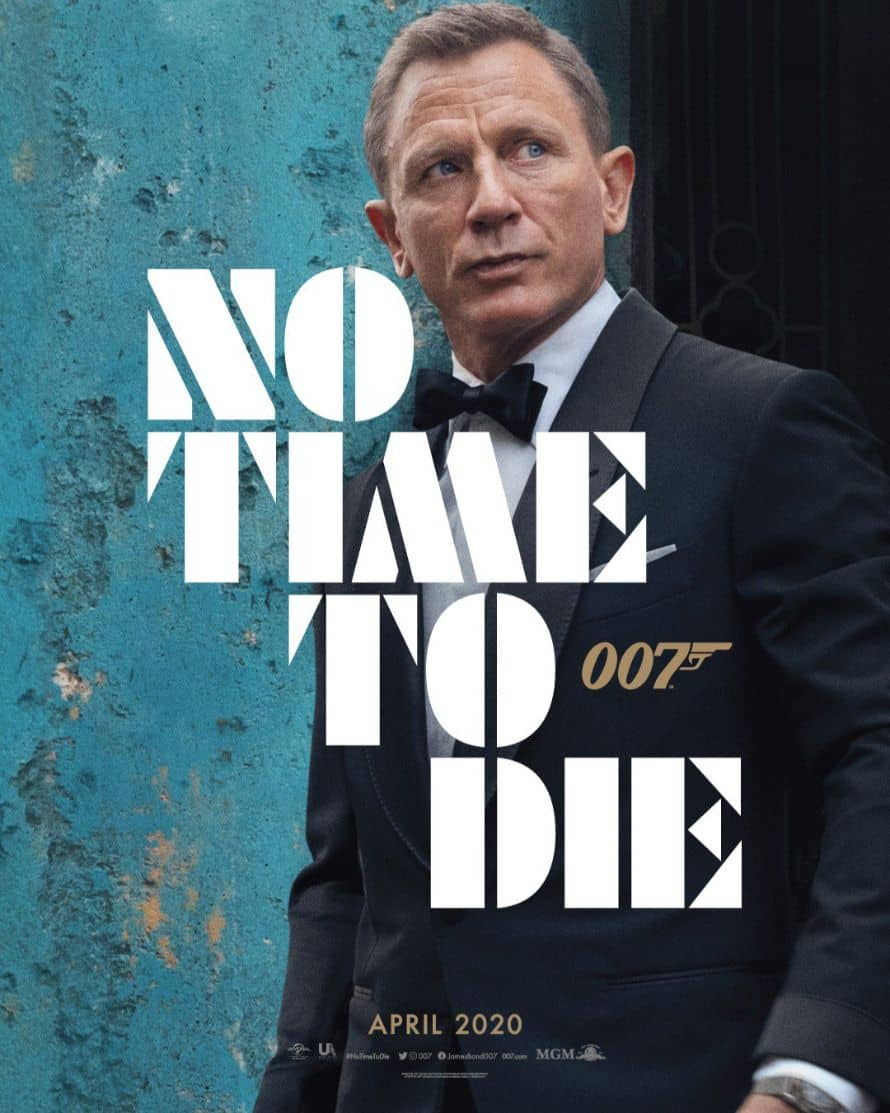 Bond 25's No Time To Die Poster Is Here To Underwhelm You