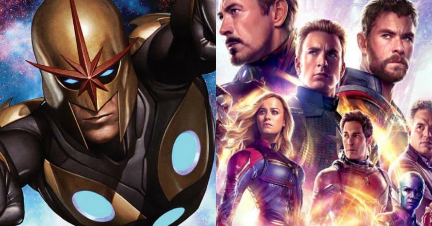 Nova Glenn Close Avengers Infinity War Endgame