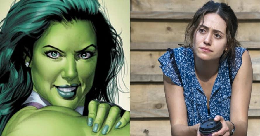 Shameless Emmy Rossum She-Hulk MCU