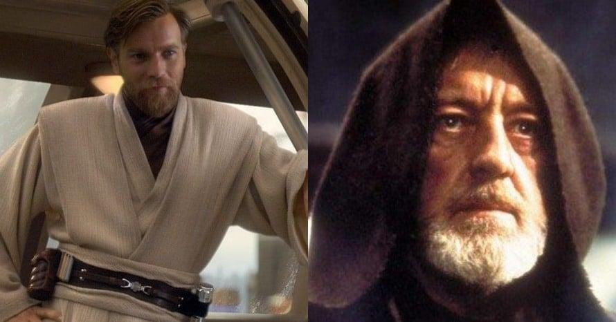 Star Wars Ewan McGregor Obi-Wan Kenobi Alec Guinness Luke Skywalker