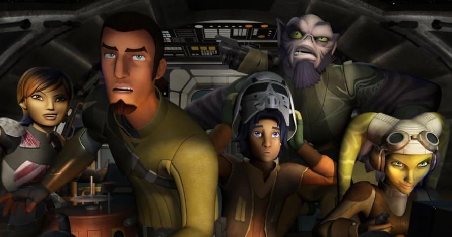 Star Wars Rebels The Rise of Skywalker