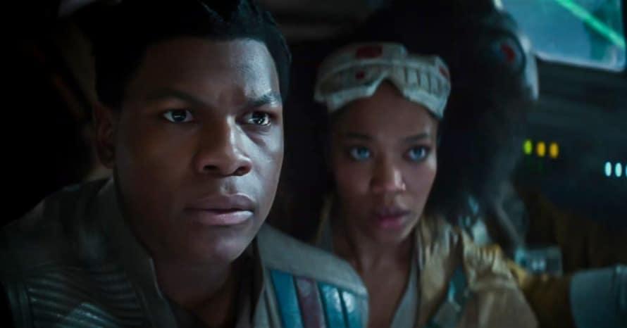 Star Wars The Rise of Skywalker John Boyega Finn Kelly Marie Tran Oscar Isaac