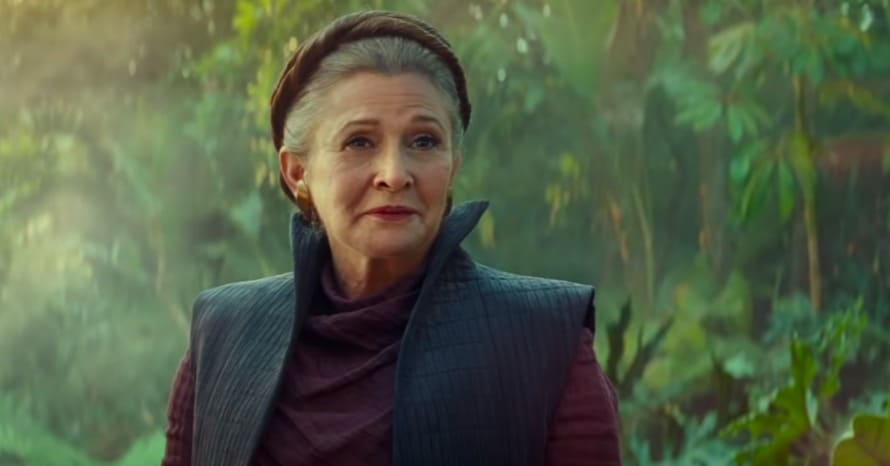 Star Wars The Rise of Skywalker Carrie Fisher