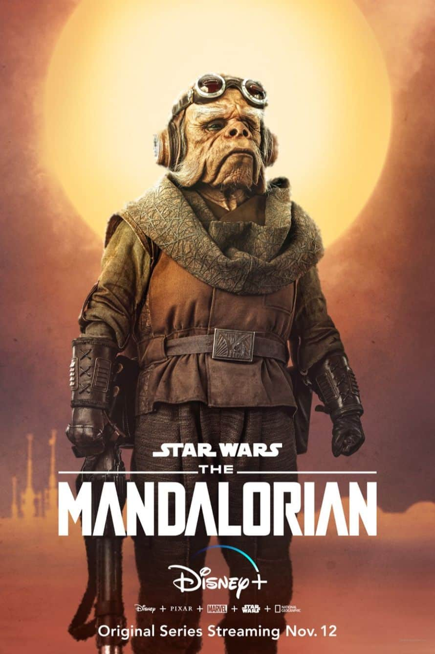 Star Wars The Mandalorian Pedro Pascal Alien