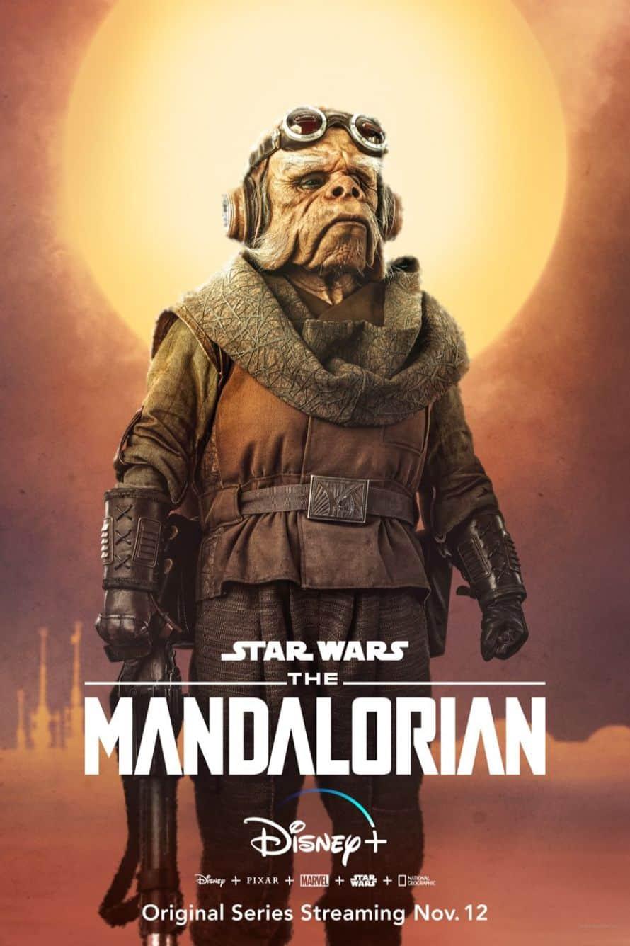 Star Wars The Mandalorian Pedro Pascal Alien