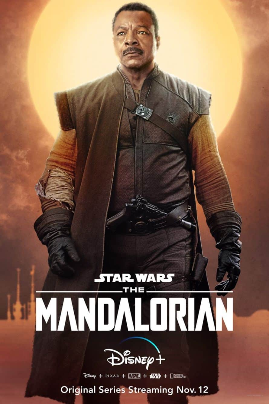 Star Wars The Mandalorian Pedro Pascal Carl Weathers
