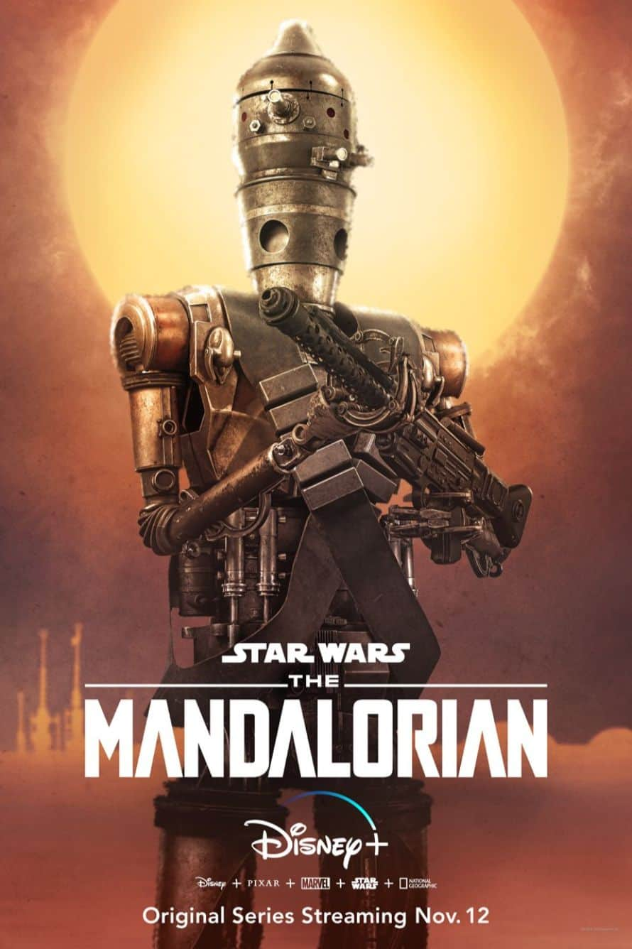 Star Wars The Mandalorian Pedro Pascal Droid