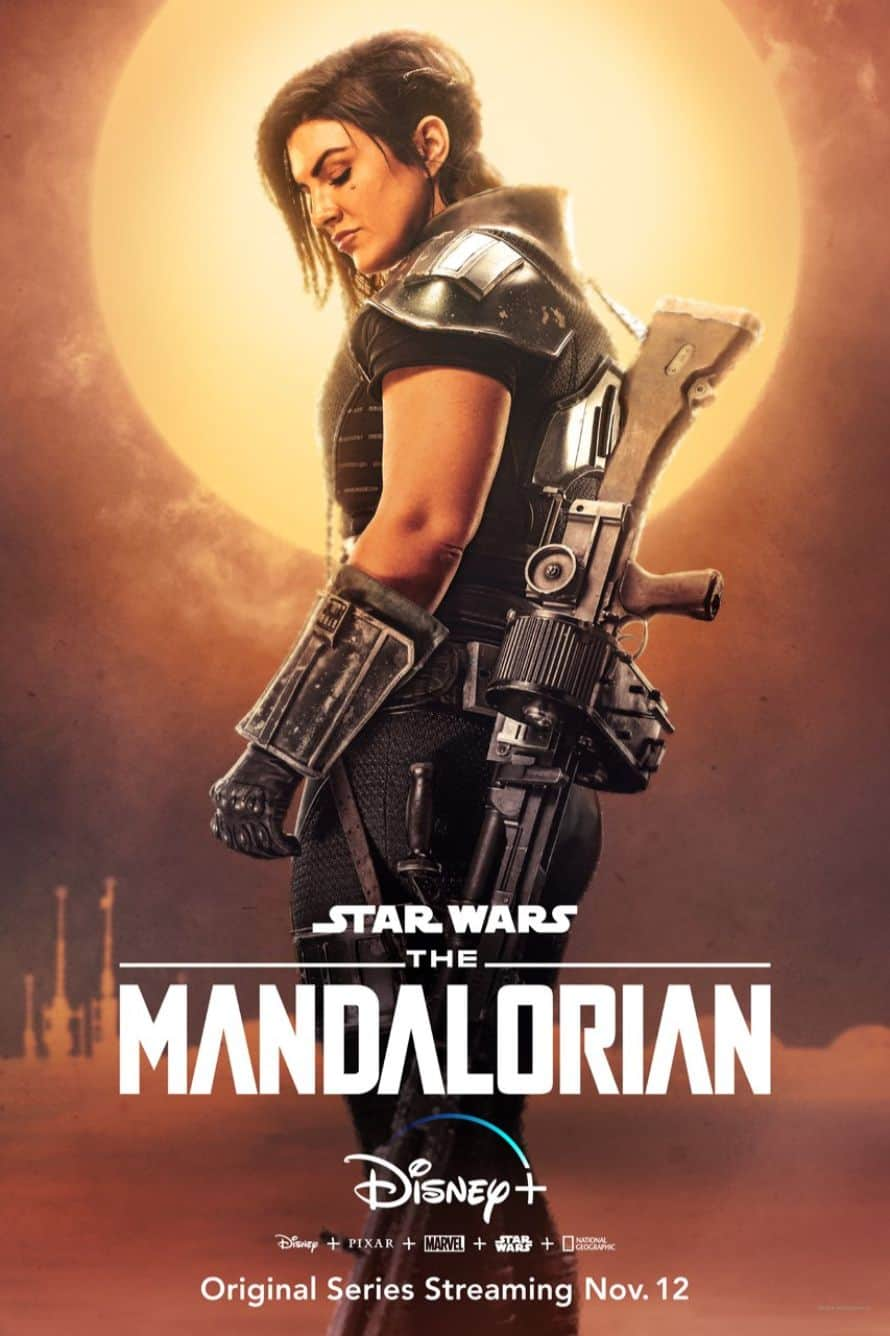 Star Wars The Mandalorian Pedro Pascal Gina