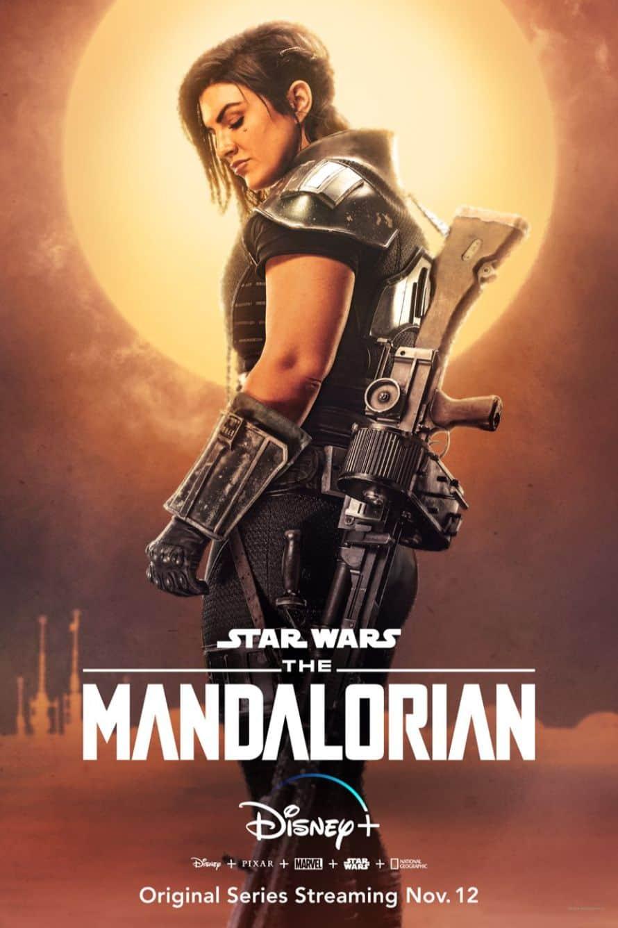 Star Wars The Mandalorian Pedro Pascal Gina