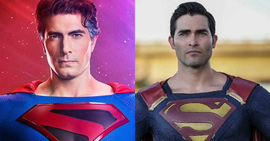 Superman Tyler Hoechlin Brandon Routh Crisis On Infinite Earths