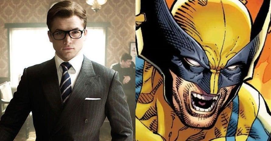 Taron Egerton Wolverine MCU Kevin Feige X-Men