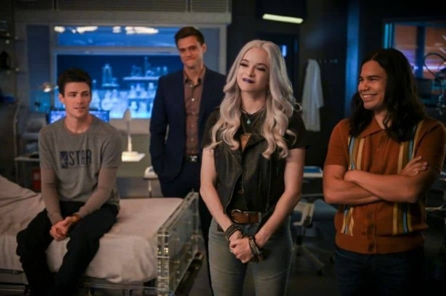The Flash Grant Gustin John Wesley Shipp Jay Garrick Lightning Team Two
