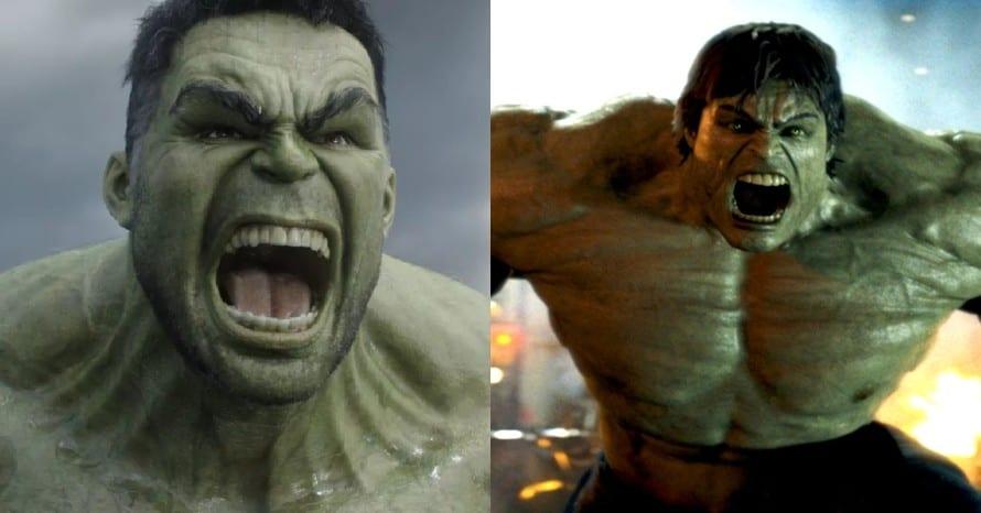 The Incredible Hulk Mark Ruffalo Thor Ragnarok