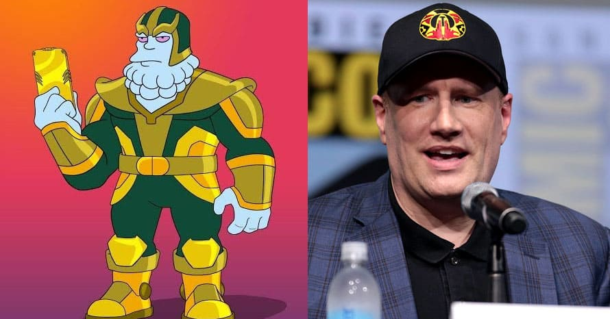 The Simpsons Marvel Studios Kevin Feige Russo Brothers