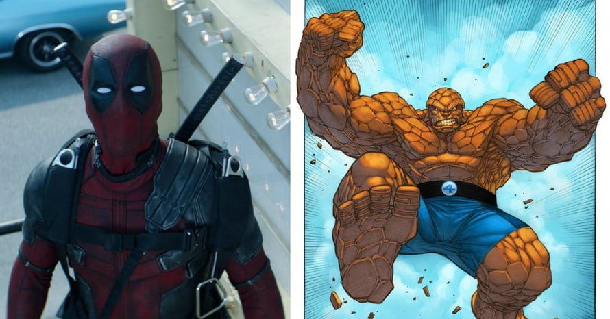 Tim Miller Deadpool 2 Fantastic Four The Thing