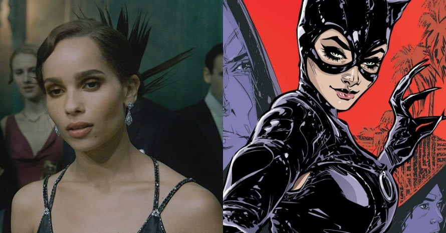 The Batman Zoe Kravitz Shows Off Catwoman Hairstyle At