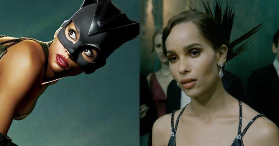 Zoe Kravitz Halle Berry Catwoman Batman