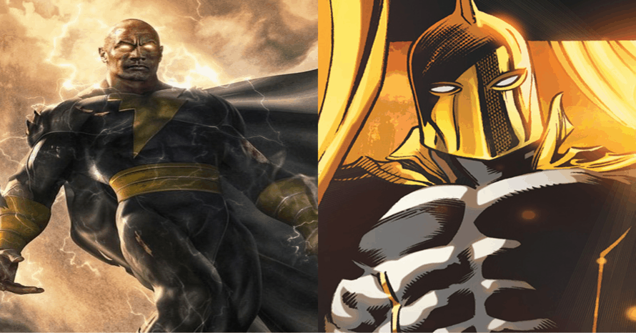 Dwayne Johnson's Black Adam Will Feature Doctor Fate & Isis