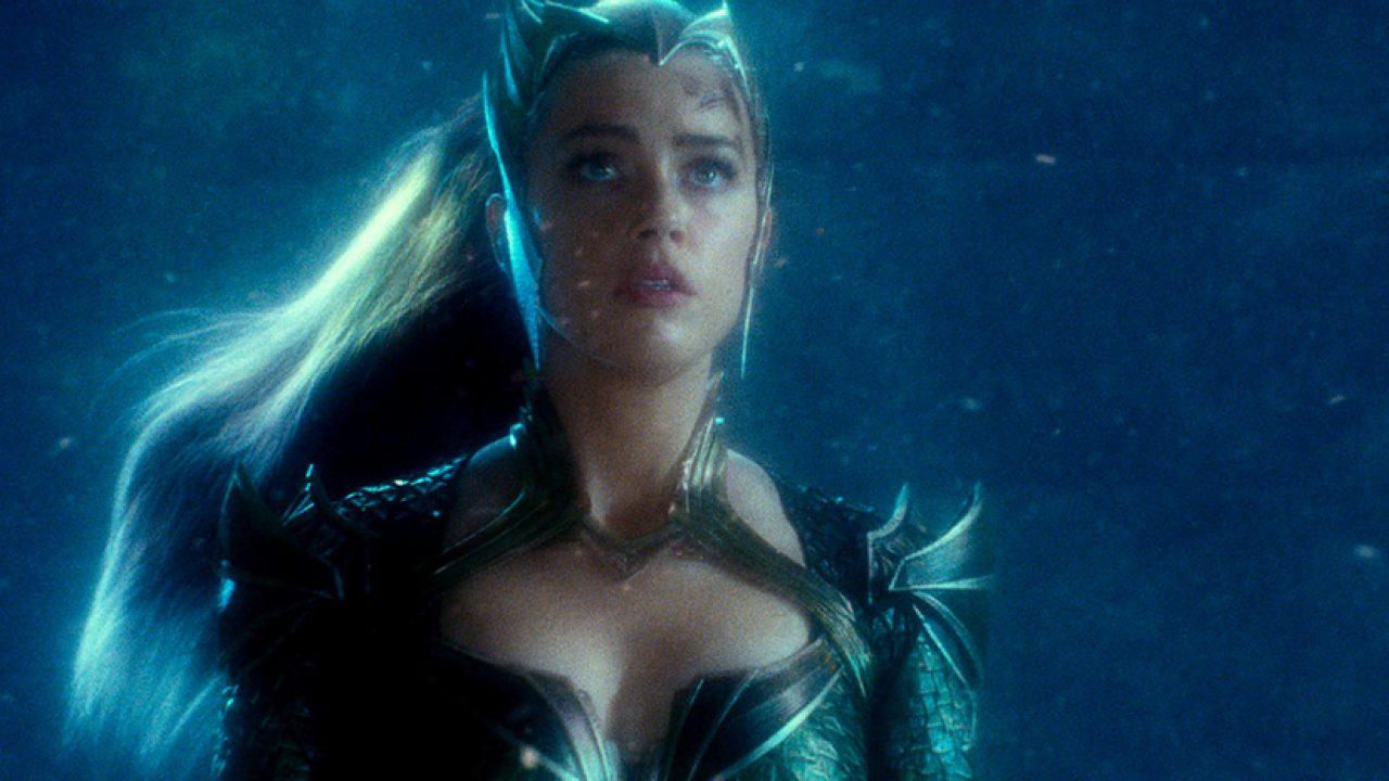 Amber Heard también estará en el Snyder Cut de Justice League.