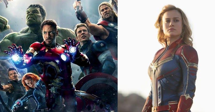 Avengers Age Of Ultron Captain Marvel