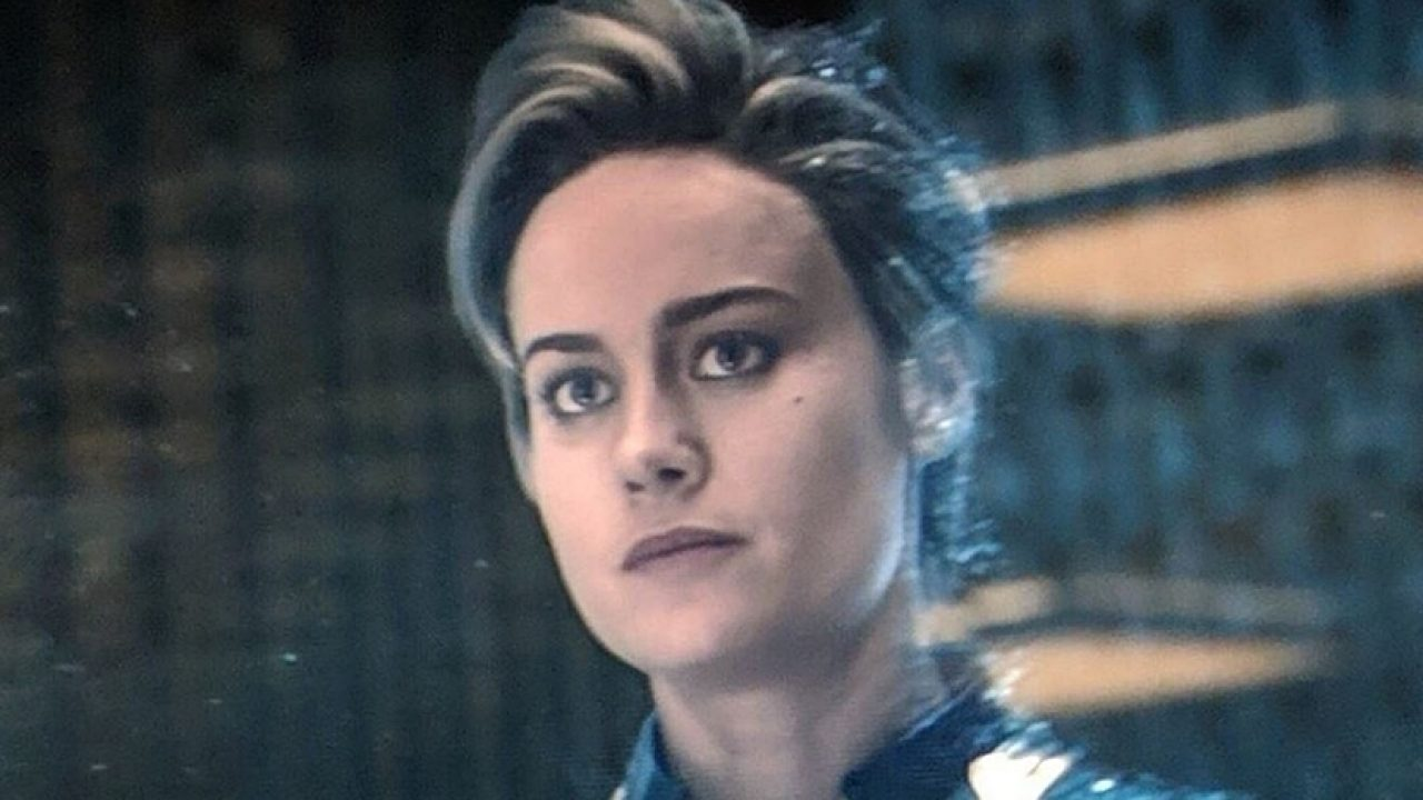 Avengers See Different Hairstyles For Brie Larson S Captain Marvel