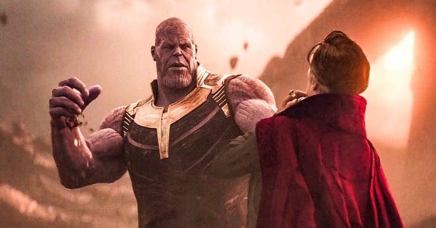 Avengers Infinity War Doctor Strange Thanos