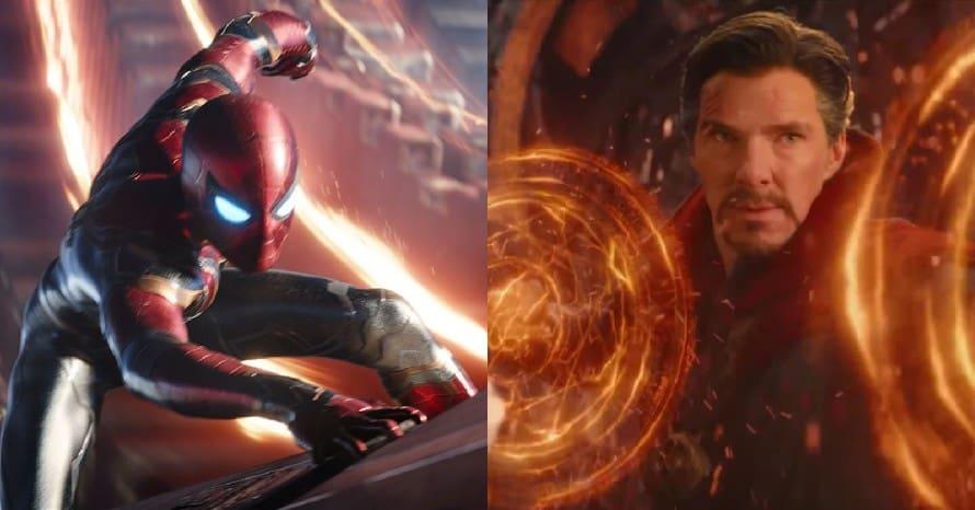 Avengers Infinity War Spider-Man: No Way Home Tom Holland Doctor Strange Peter Parker