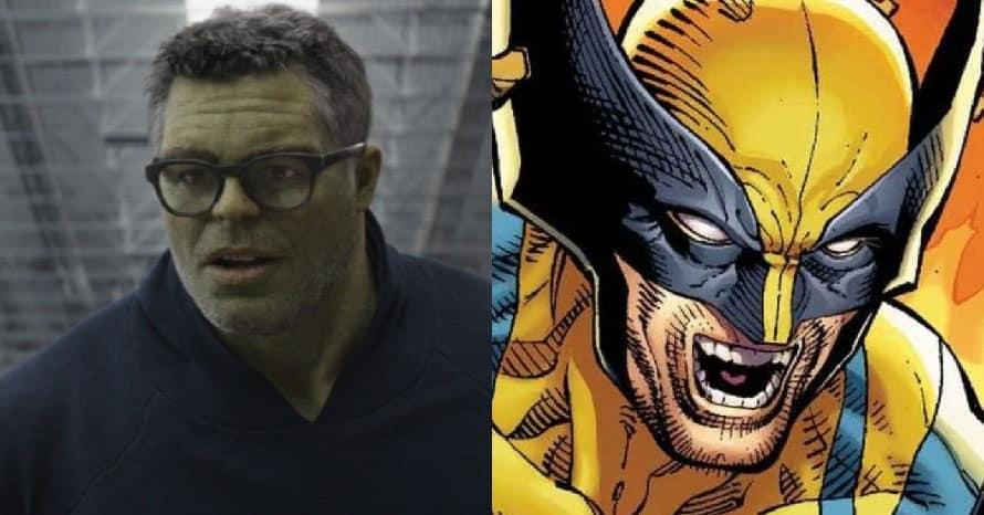 Avengers Mark Ruffalo Kevin Feige Hulk Wolverine