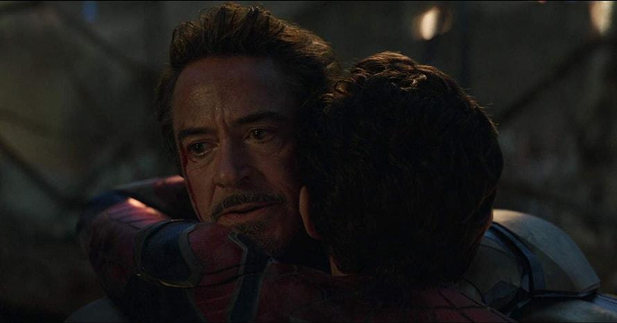 Avengers Endgame Iron Man Spider-Man