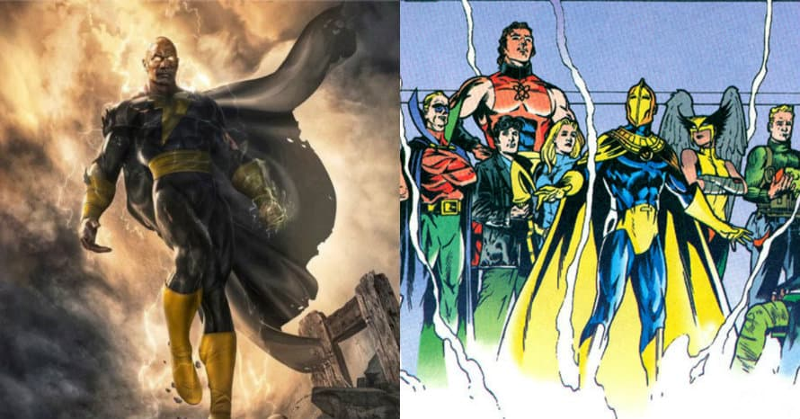 Justice Society Confirmed To Appear In Dwayne Johnson S